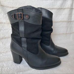 Levi's Sancho Heeled Boots - size 8